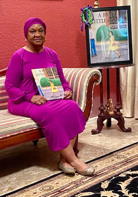 Lavon Wright Bracy Holding her Book