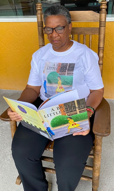 Lavon wright bracy Reading her Book